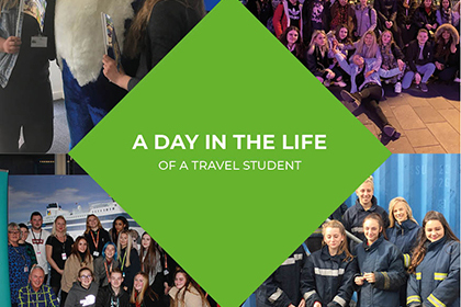 A day in the life of a travel and tourism student