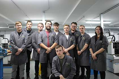 Eurotunnel apprentices