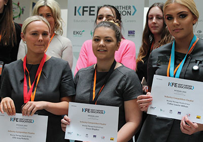 Student wins KFE 4 Skills (Hand and Face Category)